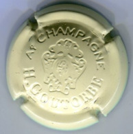 CAPSULE-CHAMPAGNE GOUTORBE H N°14 Estampée Crème - Champagne