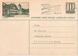 """PK 182  """"Aarberg""""               1960 - Interi Postali"""