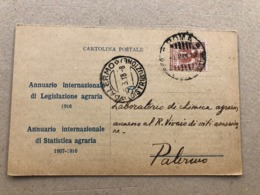 ROMA ISTITUTO INTERNAZIONALE DI AGRICOLTURA 1918 - Roma (Rom)