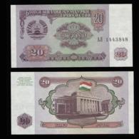Таджикистан 20 рублей 1994 года  - UNC - Tadzjikistan