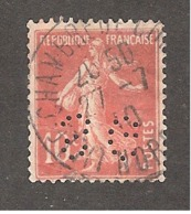 Perforé/perfin/lochung France No 138 SG Société Générale (98) - France