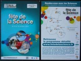 287  Carte Com  Fête De La Science En Champagne Ardenne - Werbepostkarten