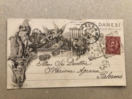 ROMA DANESI RIPRODUZIONI SCIENTIFICHE COMMERCIALI ARTISTICHE  1894 - Altri