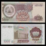 Таджикистан 1000 рублей 1994 года  - UNC - Tadzjikistan