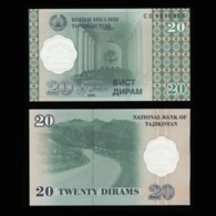 Таджикистан 20 дирам 2000 года  - UNC - Tadzjikistan