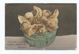 Cornish Pasty And Dumplings Posted Gorran  Railway Sub Office.  Cornwall Nr.caerhayes - Humor