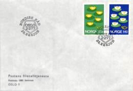 [902244]TB//-Norvège 1977 - SESJON, Fleurs - Norway