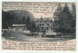 Suisse // Schweiz // Switzerland //  Valais // Le Col Des Planches Sur Martigny, Hôtel-Pension Du Velan - VS Valais