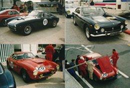 Ferrari 250 GT Début Des Années 60 Versions Berlinetta 2 + 2 Et SWB - Lot De 4 Photos 15 X 10 Cm - Cars