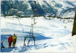 SPORTINIA  SAUZE D'OULX  TORINO  Invernale  Monte Triplex  Skilift  Sci Ski - Italie