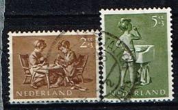 PAYS-BAS /Oblitérés/Used/1954 - Au Profit Des Œuvres Pour L'Enfance - Period 1949-1980 (Juliana)