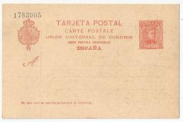 Spain España Postal Stationery Entero Tarjeta Mint 1902 Laiz # 42Aa - Enteros Postales