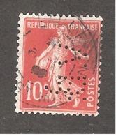 Perforé/perfin/lochung France No 138 V.D. Verley Decroix Et Cie - France