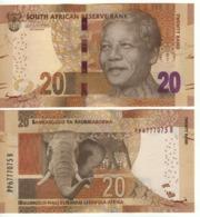 South AFRICA  20 Rand  P139b  (ND 2016)  Signature: Kganyago - Zuid-Afrika