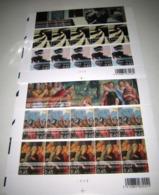 Lambert / Lombard- Kunst In België / Art En Belgique 3516/19** Plaatnummers 2-2 (Facial 13 Euro Plakwaarde) - Panes
