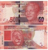 South AFRICA  50 Rand  P140b  (ND 2016)  Signature: Kganyago - Zuid-Afrika