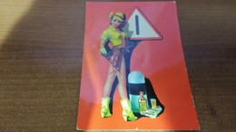 Cartolina: Pin Up Viaggiata (a43) - Postkaarten