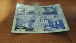 Cartolina: Pensione Milano Fano Viaggiata (a43) - Postkaarten