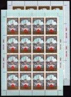 Sowjetunion/Russia 1980 Mi.4949-54 Olympiade Moskau 6 KB Goldener Ring/Sc B131-36 M/S Olympics 6 M/S Of 16 Tourism**/MNH - 1923-1991 USSR