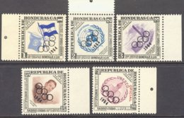 "1964-(MNH=**) Honduras S.5v."" Olimpiadi Di Tokyo"" - Summer 1964: Tokyo"
