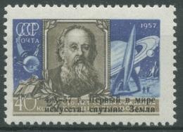 Sowjetunion 1957 Start Des Erdsatelliten Sputnik 1, 2026 Postfrisch - 1923-1991 USSR