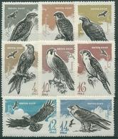 Sowjetunion 1965 Greifvögel: Falken, Adler, Bussard, Milan 3146/53 Postfrisch - 1923-1991 USSR