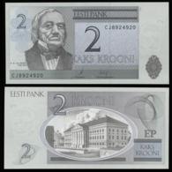 Эстония 2 кроны 2007 (Модификация 2009 года) - UNC - Estland