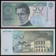 Эстония 50 крон 1994  года - UNC - Estonia