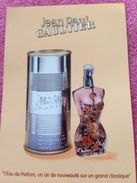 JEAN PAUL GAULTIER    L'EAU DE PARFUM - Parfumkaarten