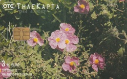 GRECIA. FLORES - FLOWERS. Spring 2002. 04/2002. X1430A. (256). - Flores