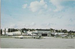 Chautauqua County Airport, Jamestown New York Postcard Ny - Altri