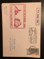 Porte Hélicoptère Jeanne D'Arc Dernier Jour D'escale à Cochin 1992 - Marcophilie (Lettres)