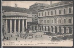 Genova - Piazza De Ferrari (con Tram) - Genova (Genoa)