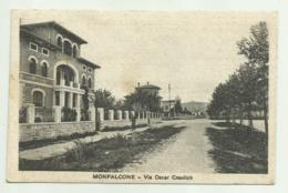 MONFALCONE - VIA OSCAR COSULICH  1932  VIAGGIATA FP - Gorizia