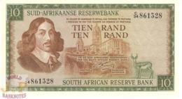 SOUTH AFRICA 10 RAND 1966 PICK 114a UNC - Zuid-Afrika