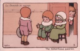 A. Bertiglia, La Demande En Mariage (3559) - Bertiglia, A.