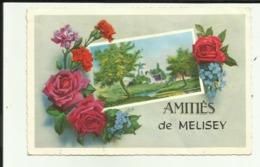 70 - Haute Saone - Amitiés  De Melisey - Fantaisie - Roses - Oeillets - - Frankrijk