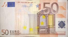 50 EURO Alemania(X) E003, DRAGHI Del 2002 - 50 Euro