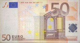 50 EURO BELGICA(Z) T013, TRICHET - 50 Euro