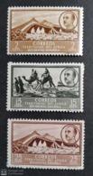 Africa Occidental 1950. Edifil 3-6-7  MH Con Charnela. - Sahara Español