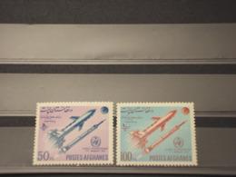 AFGHANISTAN - 1962 METEREOLOGIA  2 VALORI - NUOVI(++) - Afghanistan