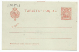 Spain España Postal Stationery Entero Tarjeta Mint 1904 Laiz # 45A - Enteros Postales