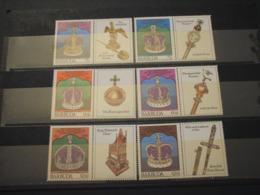 BARBUDA . 1978 INCORONAZIONE 6 VALORI - NUOVI(++) - Antigua Und Barbuda (1981-...)