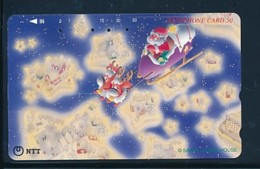 JAPAN Telefonkarte- NTT -111-005 -Weihnachten Merry Christmas - Siehe Scan - Natale