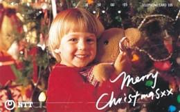 JAPAN Telefonkarte- NTT -111-045 -Weihnachten Merry Christmas - Siehe Scan - Natale
