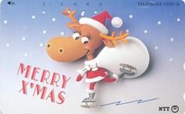 JAPAN Telefonkarte- NTT -111-047 -Weihnachten Merry Christmas - Siehe Scan - Natale
