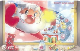 JAPAN Telefonkarte- NTT -111-048 -Weihnachten Merry Christmas - Siehe Scan - Natale