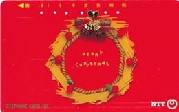JAPAN Telefonkarte- NTT -111-052 -Weihnachten Merry Christmas - Siehe Scan - Natale