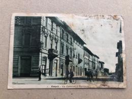 EMPOLI VIA CURTATONE E MONTANARA  1923 - Empoli