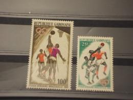 GABON - 1965 SPORT 2 VALORI - NUOVI(++) - Gabon (1960-...)